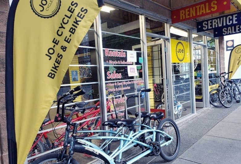 What Are the Bike Rental Rates at JO-E's?